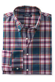 Men's Big and Tall Traditional Fit Comfort First No Iron Twill Shirt