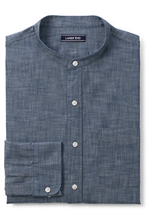 Men's Chambray Grandad Shirt