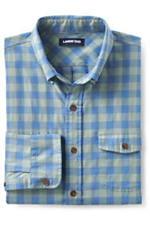 Men's Traditional Fit Comfort- First Lightweight Flannel Shirt, alternative image