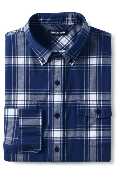 Men's Tailored Fit Comfort First All Season Flannel Shirt