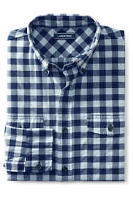 Men's Big and Tall Traditional Fit Comfort First All Season Flannel Shirt