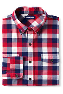 Men's Traditional Fit Comfort- First Lightweight Flannel Shirt, Unknown
