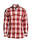 La Chemise en Flanelle Légère Coupe Classique, Homme Stature Standard