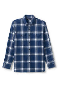 Men's Tall Tailored Fit Comfort-First Lightweight Flannel Shirt