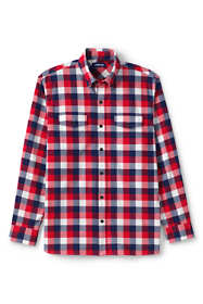 Men's Tailored Fit Comfort-First Lightweight Flannel Shirt