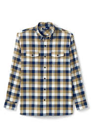 Men's Tall Traditional Fit  Comfort- First Lightweight Flannel Shirt