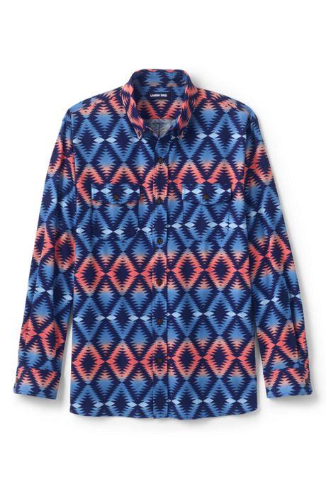 Men's Traditional Fit Comfort- First Lightweight Flannel Shirt