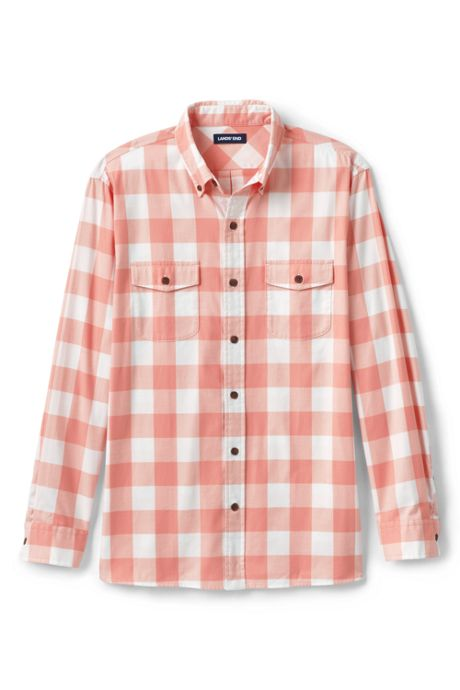 Men's Traditional Fit Comfort- First Lightweight Flannel Shirt