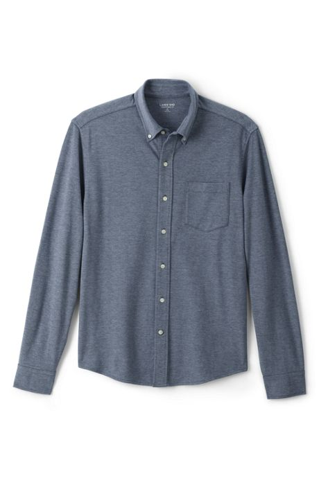 Men's Traditional Fit Knit Sport Shirt