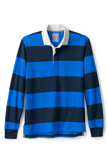 Le Polo Rayures Rugby Manches Longues, Homme