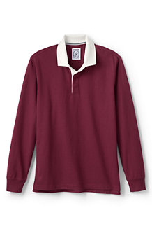 Polo en Jersey Manches Longues, Homme