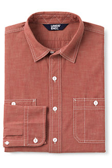 Men's Chambray Work Shirt