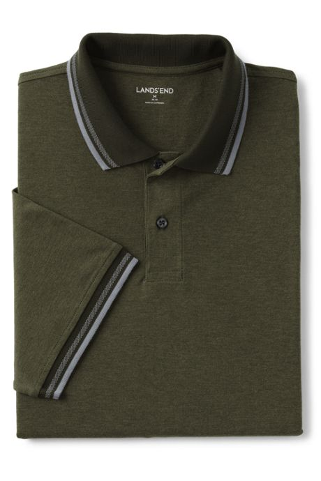 Men's Short Sleeve Stretch Pique Supima Oxford Polo