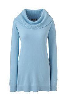Women's Merino Cowl Neck Tunic