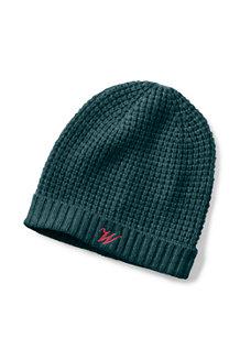 Women's Waffle Knit Cashmere Hat