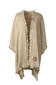 Women's Ruffle Shawl Wrap