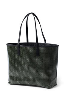 Women's Coated Canvas Tote