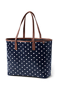 Women S Coated Canvas Tote