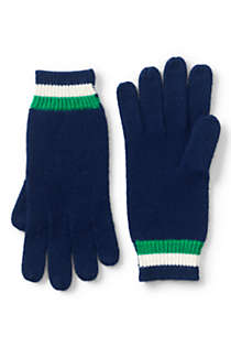 Women's Stripe Knit Gloves, Front
