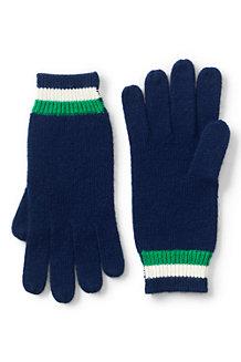 Women's Stripe Knit Gloves