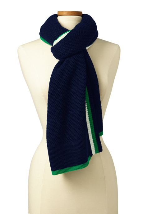 Women's Oversized Stripe Scarf