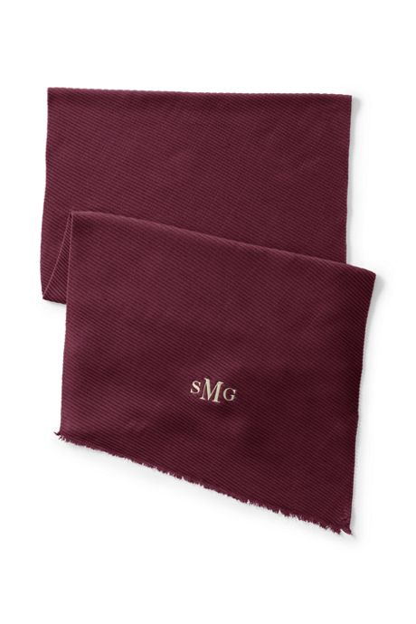 Women's Pleated CashTouch Winter Scarf