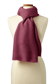 Women's CashTouch Pleated Scarf