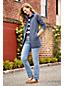 Straight Fit Jeans Mid Waist in Indigo für Damen