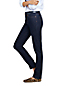 Straight Fit Jeans Mid Waist in Indigo für Damen