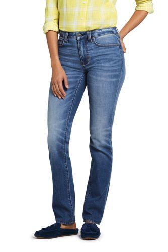 b61a2e2e9bcd9 Women s Mid Rise Straight Leg Jeans