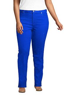Women's Mid Rise Straight Leg Corduroy Jeans