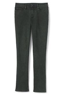 f0ec0c7b4b3e98 Farbige Straight Fit Jeans Mid Waist für Damen