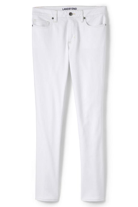 Women's Petite Mid Rise Straight Leg Jeans - Color