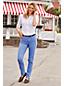 Women's Mid Rise Straight Leg Coloured Jeans