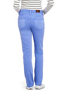 Women S Mid Rise Straight Leg Jeans Color Lands End