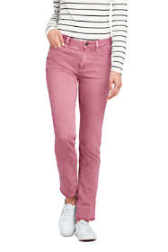 Women's Tall Mid Rise Straight Leg Jeans - Color