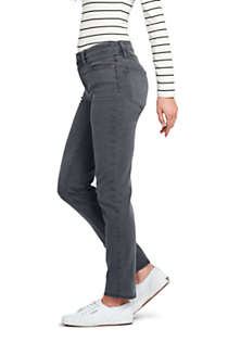 Women's Petite Mid Rise Straight Leg Jeans - Color, Unknown