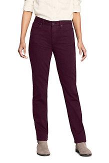 Women's Mid Rise Straight Leg Jeans - colour