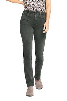 e6537a824b Farbige Straight Fit Jeans Mid Waist für Damen
