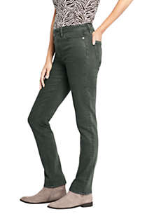 Women's Mid Rise Straight Leg Jeans - Color, Unknown
