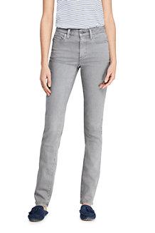 0b385175a8aa57 Straight Fit Farbige Twill-Jeans für Damen