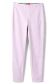 Women's Plus Size Mid Rise Bi-Stretch Pull-on Ankle Pants