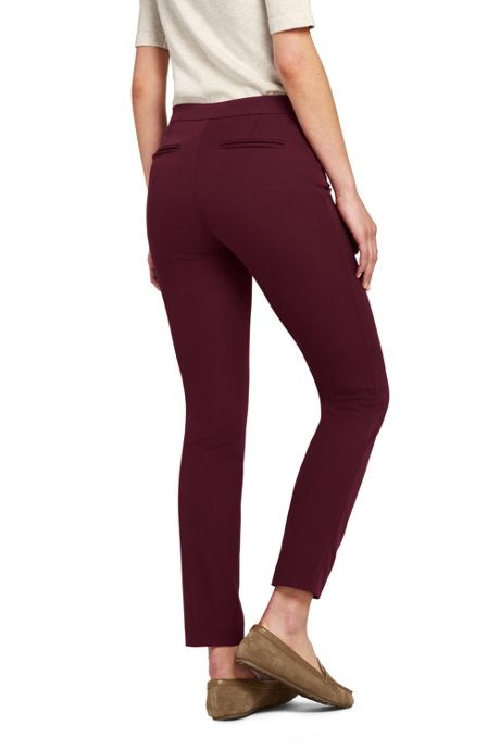 Women's Tall Mid Rise Bi-Stretch Pull-on Ankle Pants