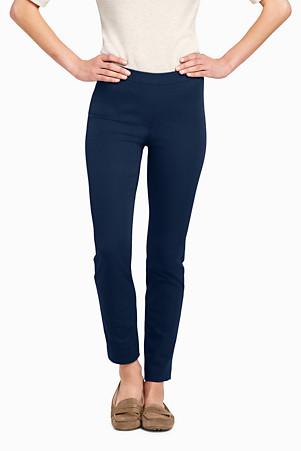 cba72276fb2a7 Women's Bi-Stretch Cigarette Trousers | Lands' End
