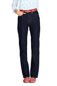 Women's Tall High Rise Straight Leg Blue Jeans