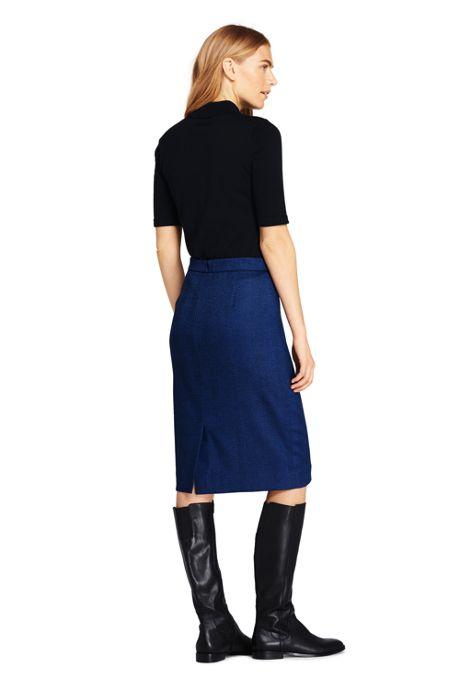 Women's Woven Pencil Skirt