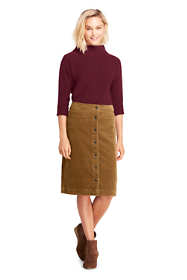 Women's Woven Corduroy Skirt