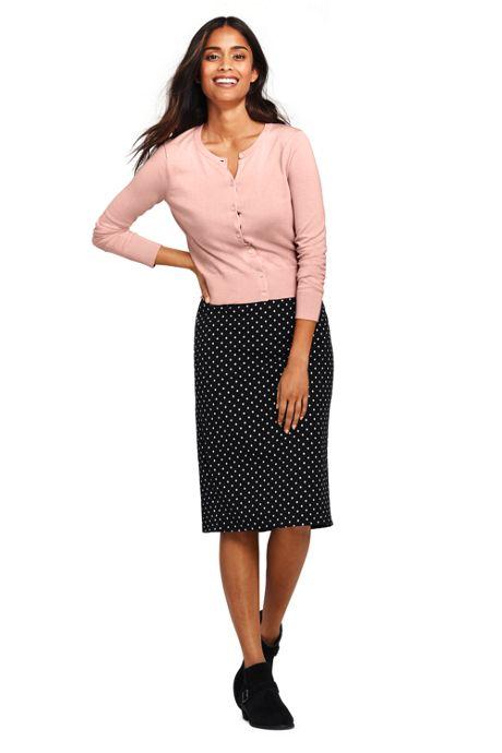 Women's Petite Bi-Stretch Pencil Skirt