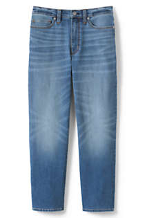Women's Petite High Rise Stove Pipe Ankle Jeans, Front