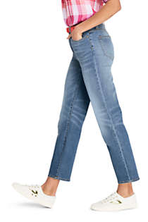 Women's High Rise Stove Pipe Ankle Jeans, alternative image